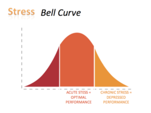 Stress Bell Curve